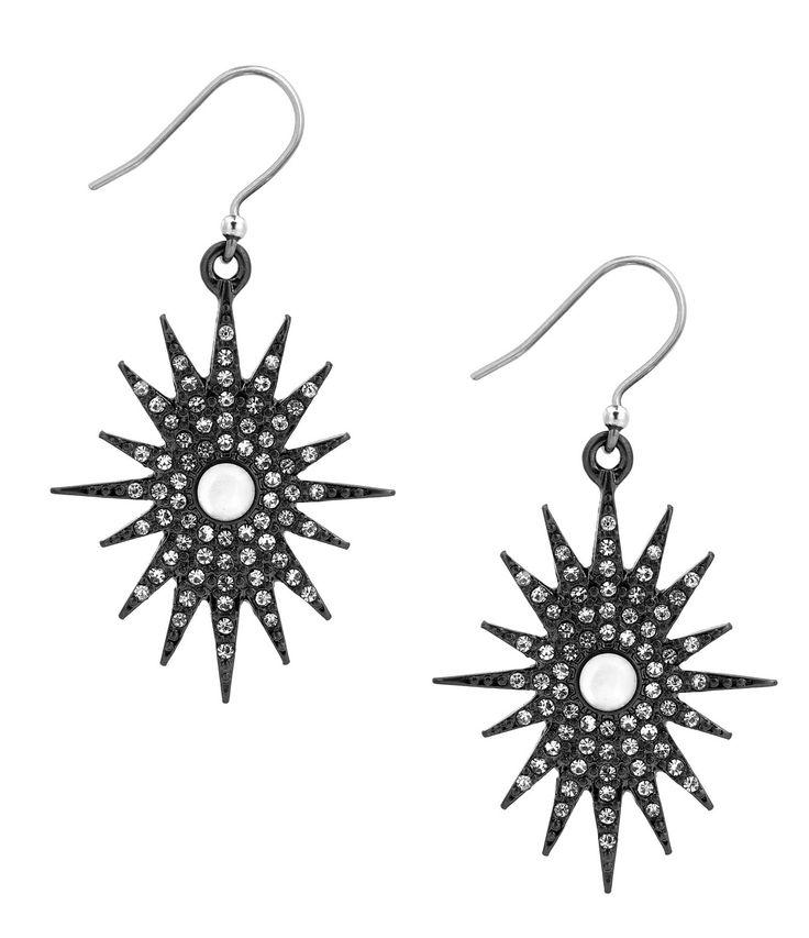 Lucky Brand Starburst MotherofPearl Drop Earrings #Dillards