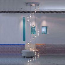 Led Kerk Kroonluchter Kristal Pendientes grote Hal Kroonluchter lamp thuis trap licht plafond kroonluchter kristal hedendaagse(China (Mainland))