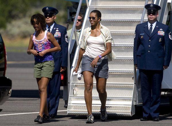 Michelle Obama's Biggest Fashion Regret? Wearing Shorts   Fashion - Yahoo Shine