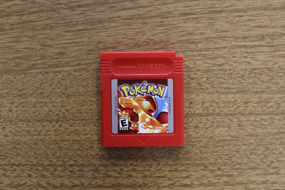 Pokemon Red Gameboy Game - For Nintendo Gameboy - Also Known as Pokemon Fire Red