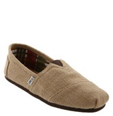 Toms.  Although pricey, very comfy!  PLUS, for every pair of shoes you purchase, they donate a pair to a needy child.