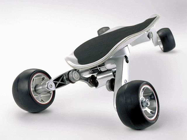 BMW, streetcarver, skateboard.