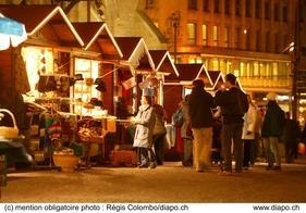 Saint-François Christmas Market - Lausanne