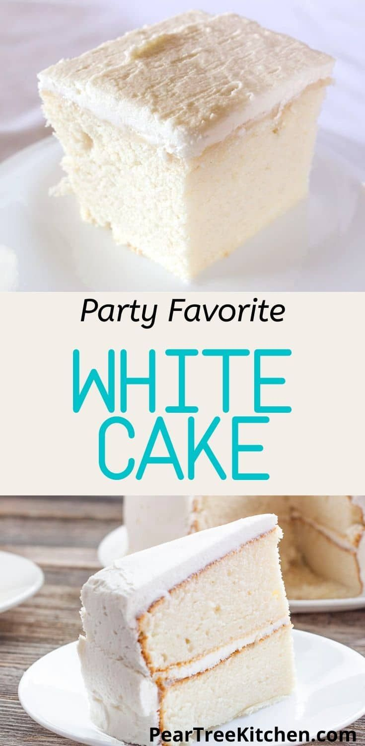 White Wedding Cake Delicious White Cake With White Buttercream Icing Tastes Like An Old Fashioned In 2020 Wedding Cake Recipe Wedding Cake Recipe White Cake Recipes