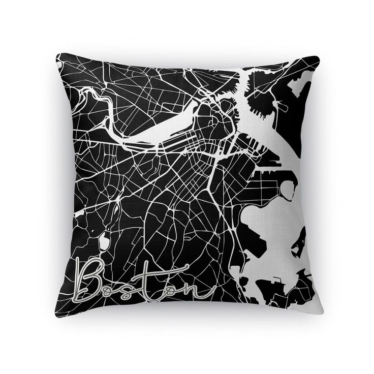 Kavka Designs / white boston accent pillow with insert