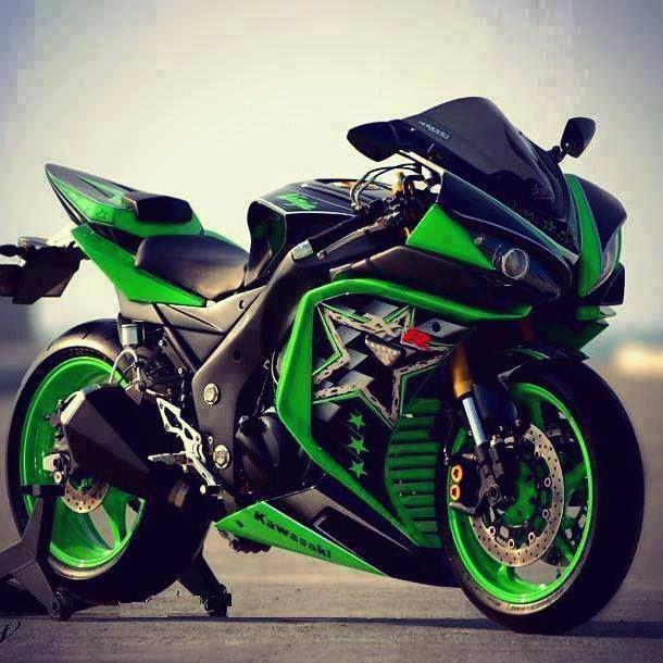 Kawasaki ZXR 1000 Ninja - amazing bike...x