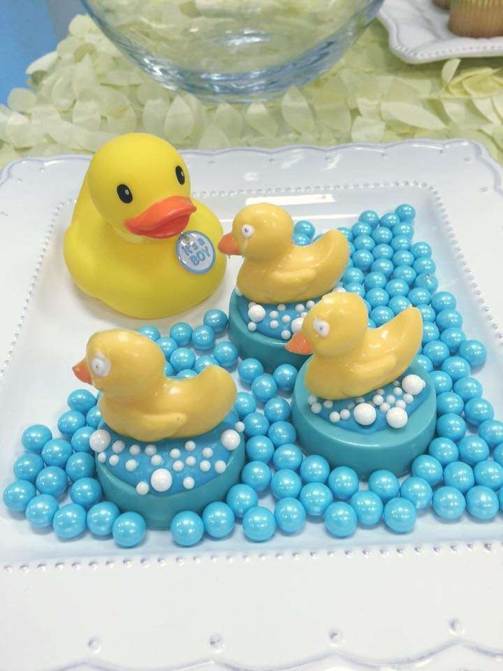 Rubber Duckies Baby Shower Party Ideas Shower Patos