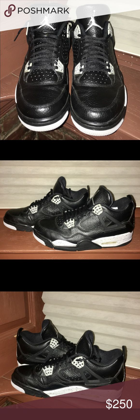 DS Jordan Retro 4 Oreo Condition is new with og box Shoes Sneakers