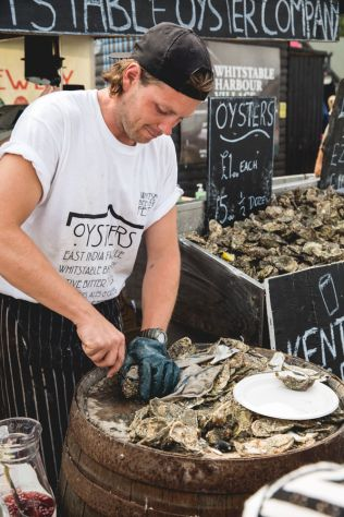 Whitstable Oyster Festival - Food&_ | Food, Stories, Recipes, Photography & Illustration