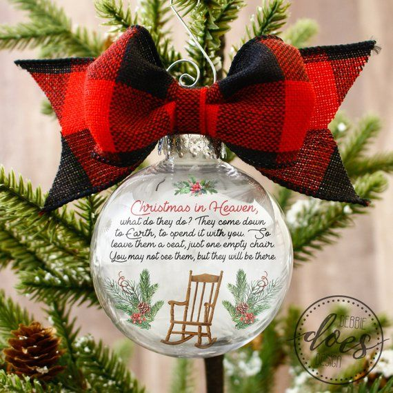 Christmas In Heaven Chair Ornament Template Ornament Etsy Christmas In Heaven Ornaments Design Ornament Template