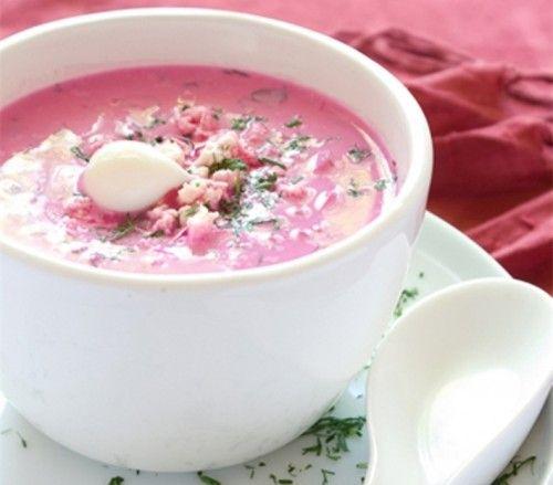 Супы-пюре со свеклой: 4 рецепта / Простые рецепты