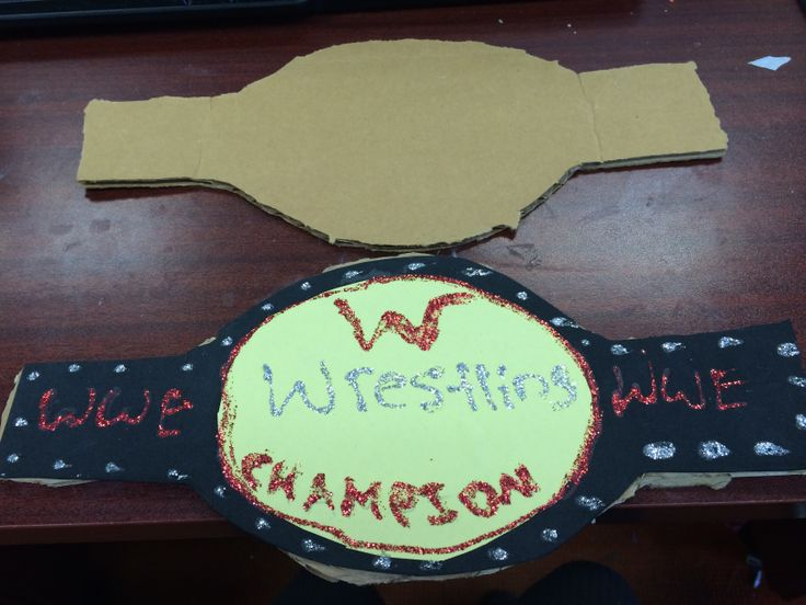 how to make a wwe ring out of cardboard