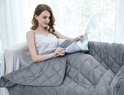 Deals Discounts You Can Snag On Amazon Now Weighted Blanket For Kids Best Weighted Blanket Weighted Blanket