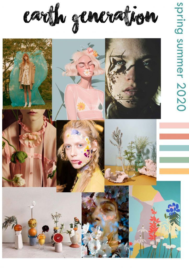 Summer 2020 Trends.Macro Trend Boards Spring Summer 2020 Kynza Kendall Jones