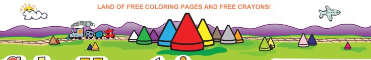 Color Mountain-use coloring pages for penmanship, letter practice, numbers, word search, tracing.  Very neat