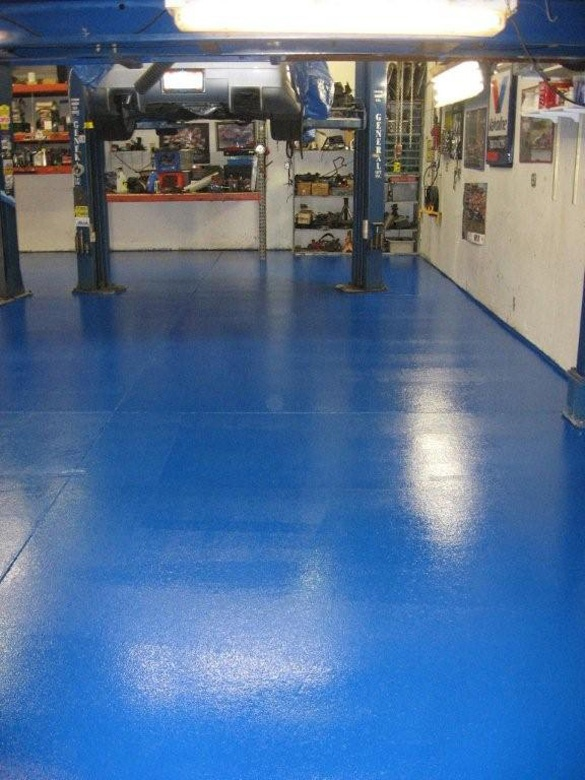 1000 Images About Garage Flooring Beautiful White