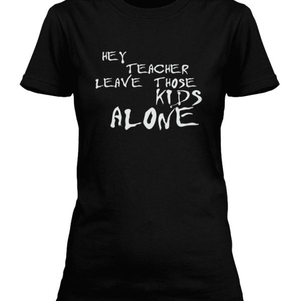 Another Brick In The Wall lyrics T-shirt