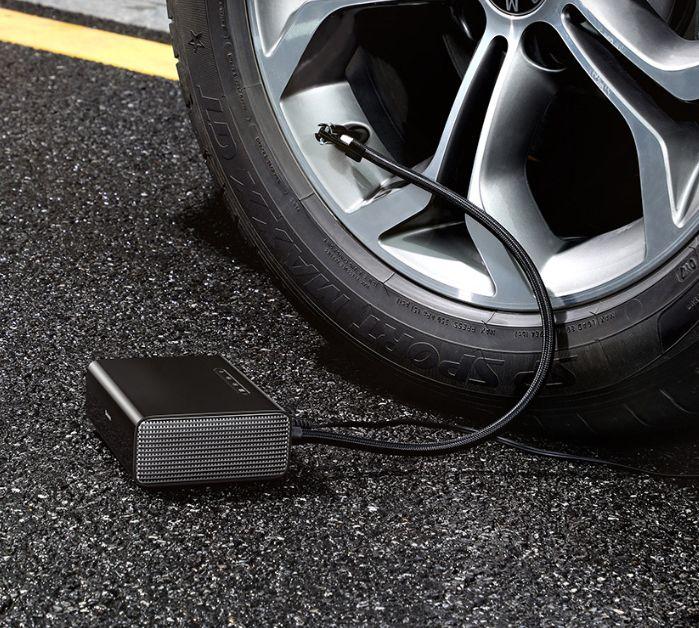 Smart car air pump daylight track lighting