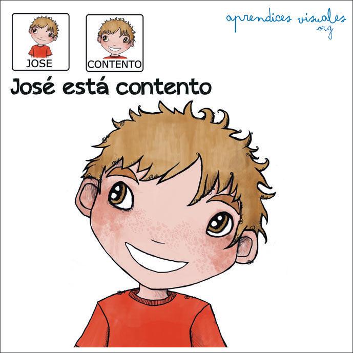 Jose esta contento_Aprendices Visuales