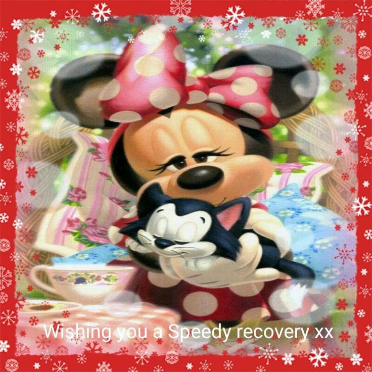 Minnie mouse speedy recovery