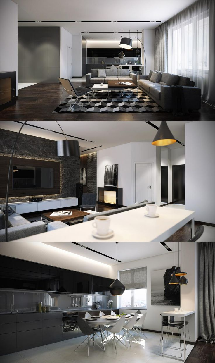Black, gray, white. - Галерея 3ddd.ru