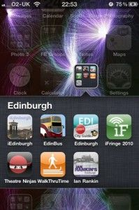 My Edinburgh Apps - iPhone apps for visitors to Edinburgh. Ideal for the short stay www.2edinburgh.com