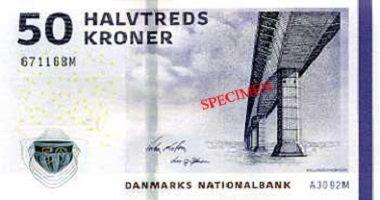 Danish Krone to US Dollar cash converter