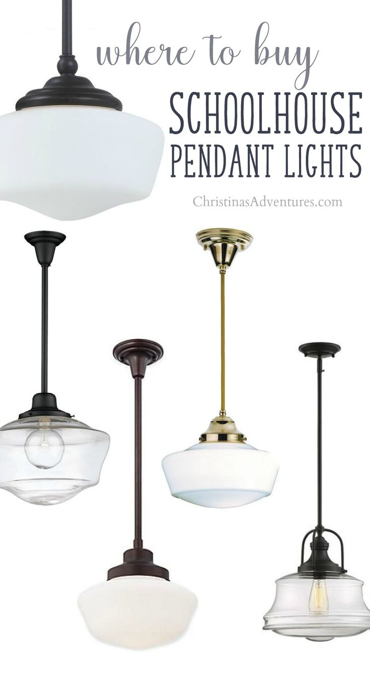 84 Best Shopping Guides For Home Decor Images On Pinterest Bedroom How To Wire A Ceiling Rose In Simple Steps Craftomaniac The Sources Schoolhouse Pendant Lights All Styles And Budgets This Post