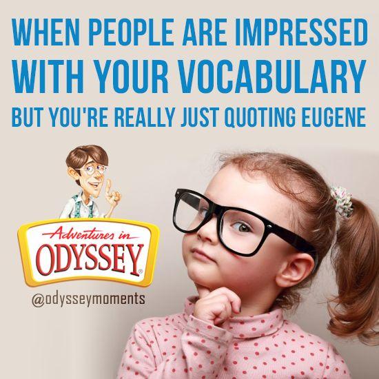 Credit: Jessica C.   Adventures in Odyssey memes