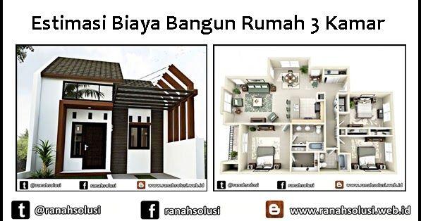 Catat Begini Cara Menghitung Biaya Bangun Rumah Minimalis 3 15 Contoh Favorit Desain Rumah Minimalis Dengan Biaya 50 Estima Di 2020 Rumah Minimalis Rumah Minimalis