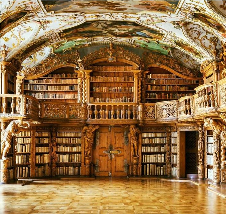 """MAG501 on Twitter: """"The Library inside of the Waldsassen Abbey in Bavaria, built in 1724, https://t.co/6RRaiISts4"""""""