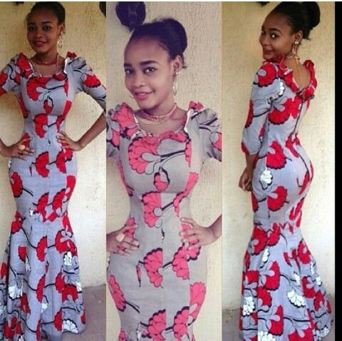 Latest styles of long dresses