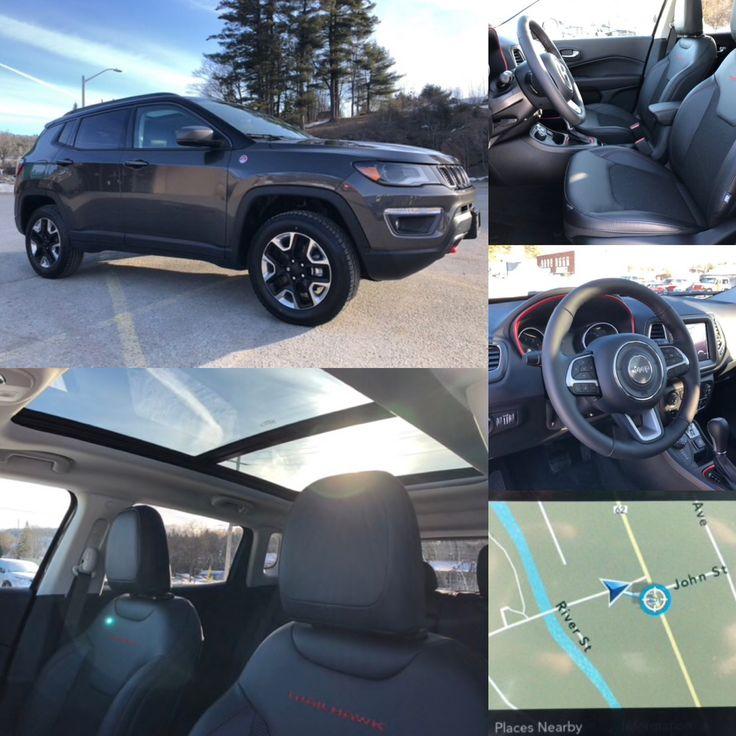 2018 'Granite Crystal Metallic' Jeep Compass Trailhawk 4x4