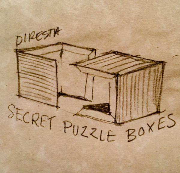 large wooden chest crossword 1