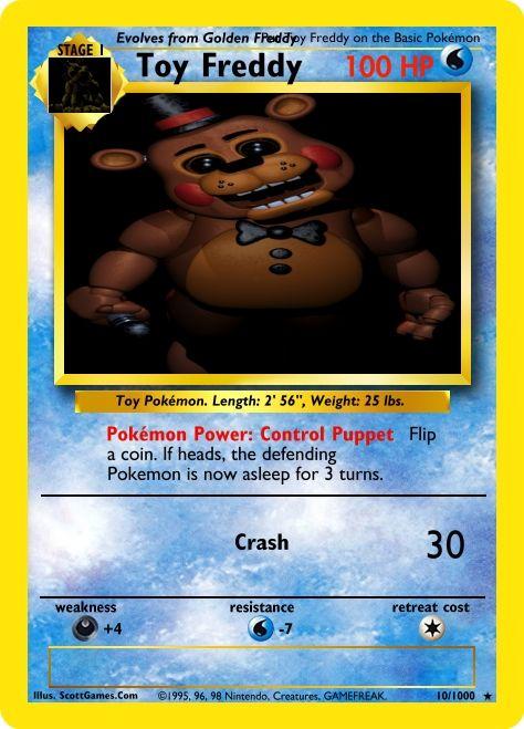 A Fake Pokemon Card. Made by: Darkharp182