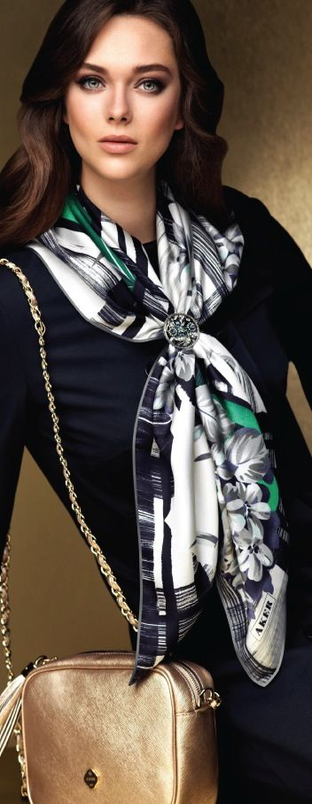 Aker Scarf / Dress / Bag 2013-14 F/W