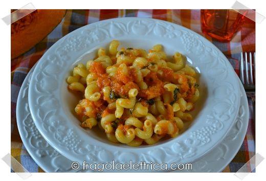 PASTA E ZUCCA fragolaelettrica.com Le ricette di Ennio Zaccariello #Ricetta