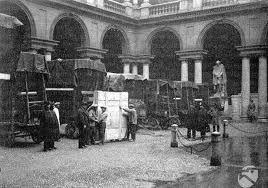 II Guerra Mondiale. Il trasporto dei quadri. #guerremondiali #storia #cultura #arte #storiadibrera
