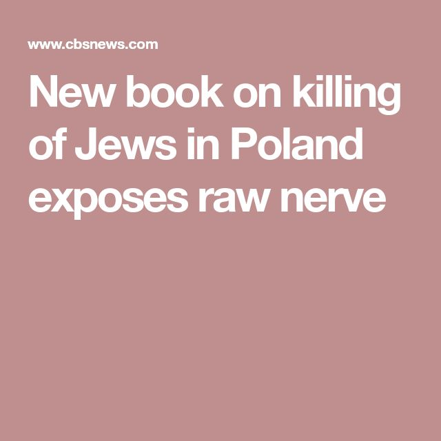 New book on killing of Jews in Poland exposes raw nerve