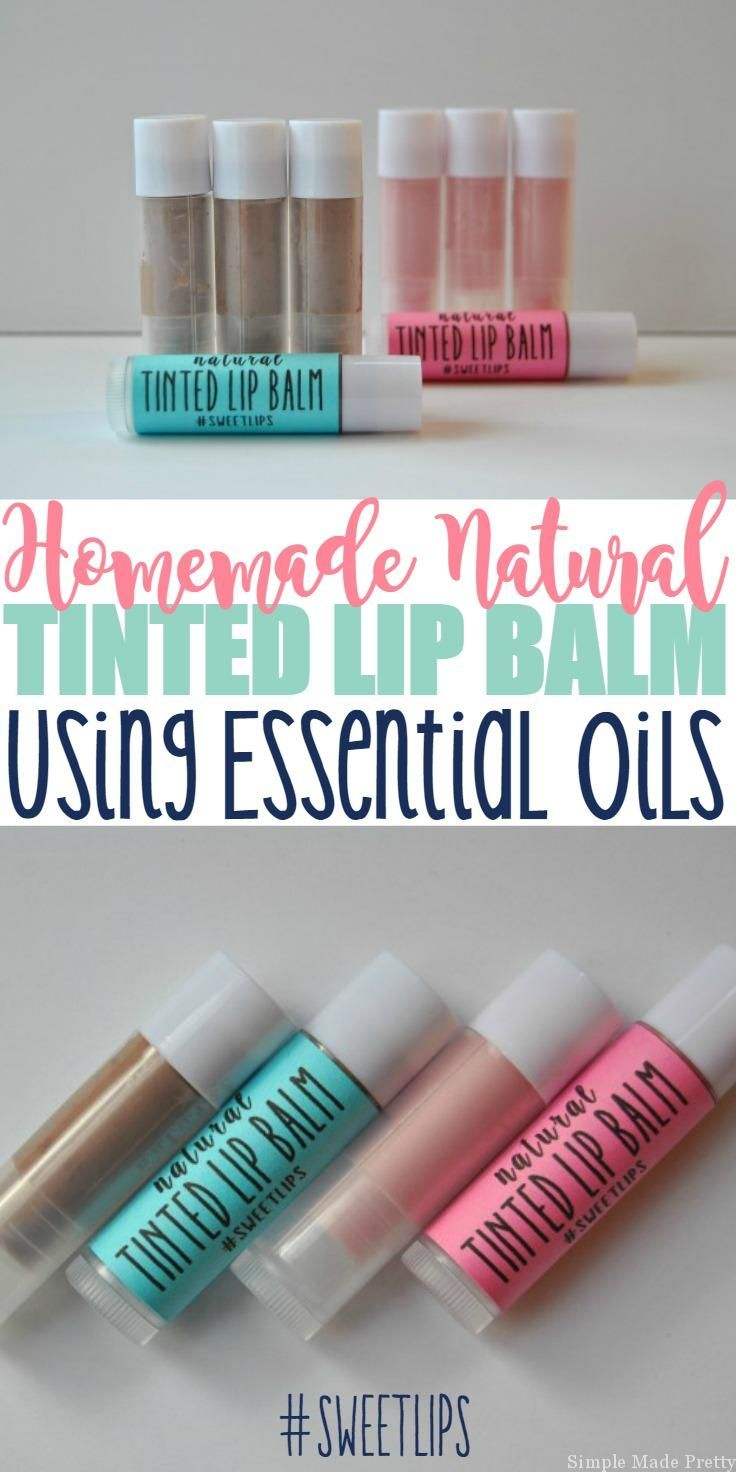 This DIY All-Natural Tinted Lip Balm Using Essential Oils will change the way you look at using toxic, chemical-filled tinted lip balm going forward. My daughter loves using Cover Girl's baby Lips tinted lip balm so I decided to make our own (since I'm an