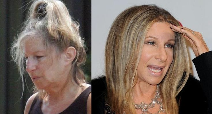 Barbara Streisand without Make Up | Celebrities without ...