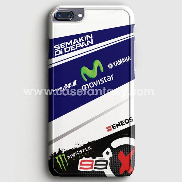 Jorge Lorenzo 99 Movistar Yamaha Motogp Team iPhone 7 Plus Case   casefantasy