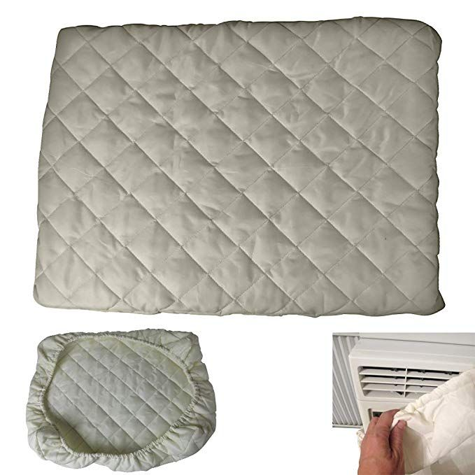 Evelots Air Conditioner Cover A C Window Indoor Elastic Double Insulation No Air Review Air Conditioner Cover Window Air Conditioner Cover Window Air Conditioner