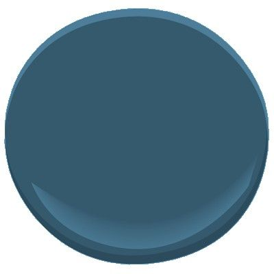 Benjamin Moore  Summer Nights   777  Capturing the color of the sky on a hot summer night, this very dark blue has a visible amount of black to suggest the infinite depth of the night sky.