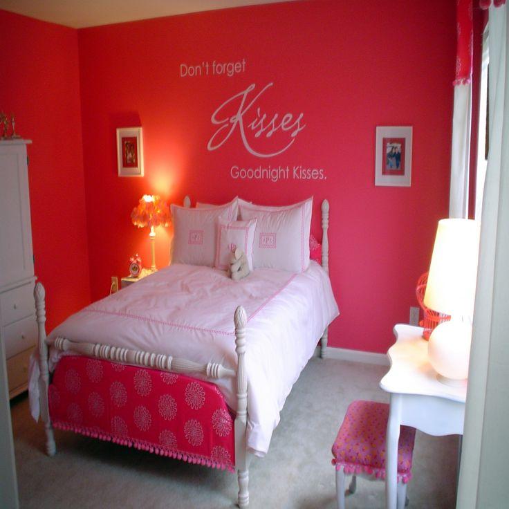 Best 25 Hot pink bedrooms ideas on Pinterest  Pink teen