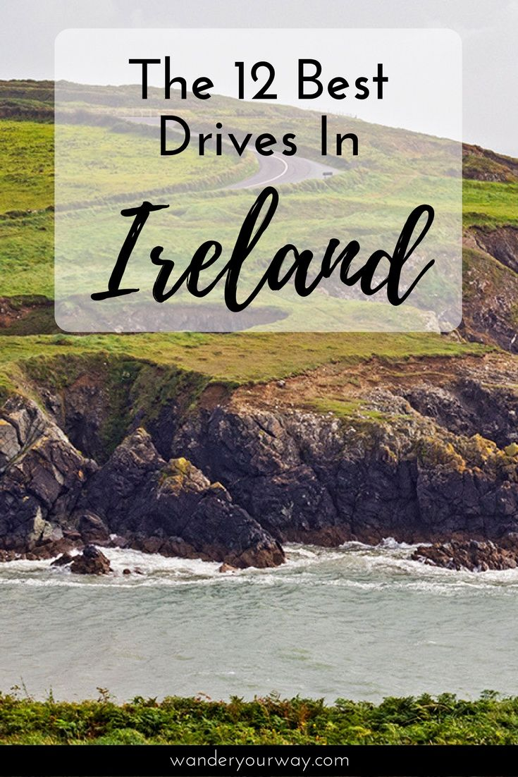 Ireland is a wonderful country to drive in because there is so much beautiful scenery. But which drive should you make? I've compiled a list of 12 of the most scenic drives in Ireland. Click through to find out more.