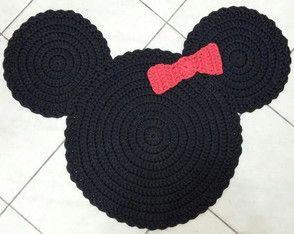 Halı Gölge Minnie Tığ