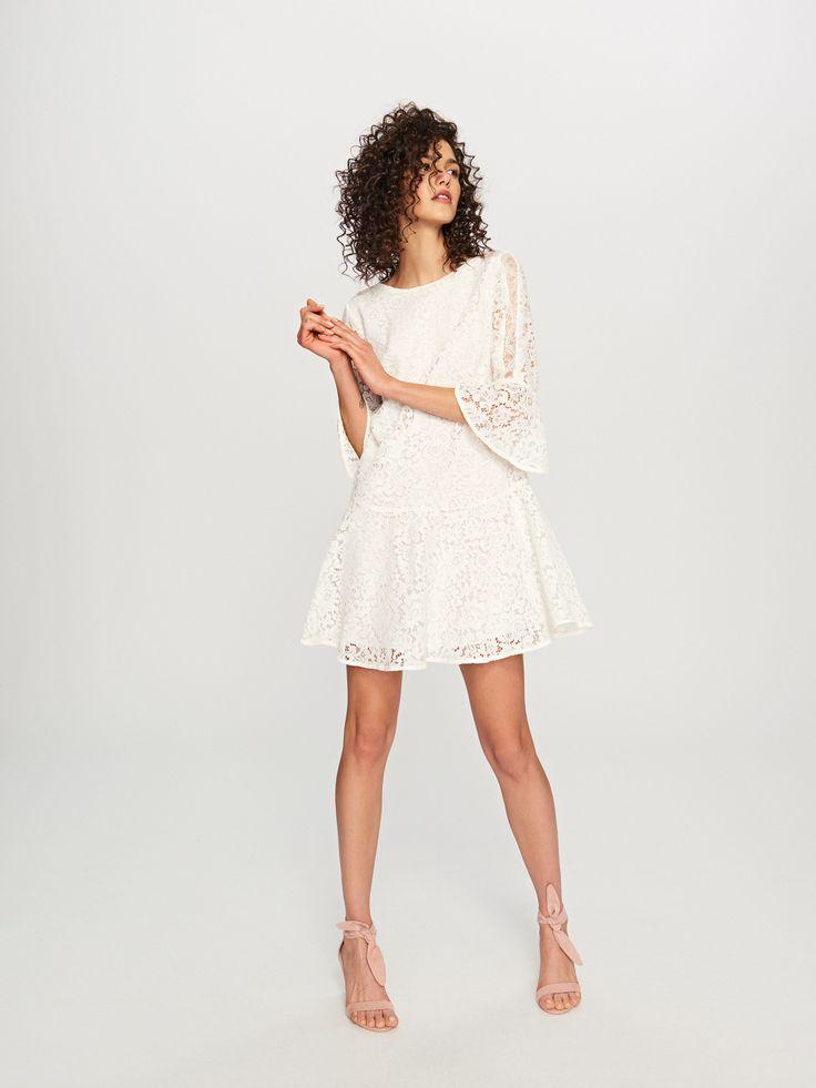 Vásárolj online! Csipkés ruha, RESERVED, TI049-01X