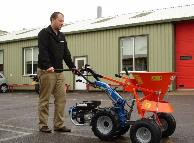 In response to customer demand, Tracmaster has added a smaller PLS 50 Nano Salt Spreader, which can be used in conjunction with its entire range of BCS Two-Wheel Tractors, BCS Crusader Power Scythes and BCS Commanders and is ideal for salting narrow pathways, both before and after snowfalls.