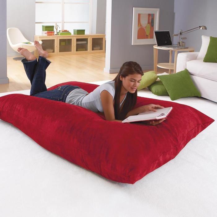 25 unique Giant floor pillows ideas on Pinterest  Floor